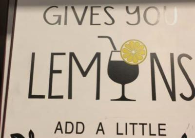 Sanne Østergaard Nissen When Life gives you lemons