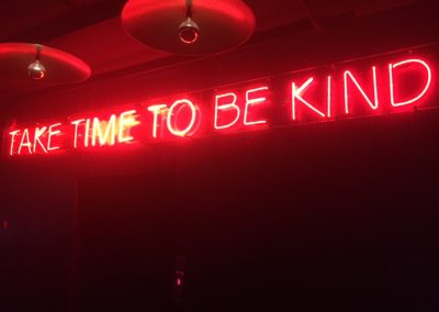 HardRockCafe take time to be kind